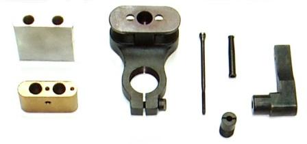 spacer blocks/support plates, collet bushings, collets, mandrels, & lift finger
